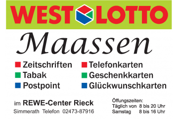 Lotto-Shop Anette Maassen